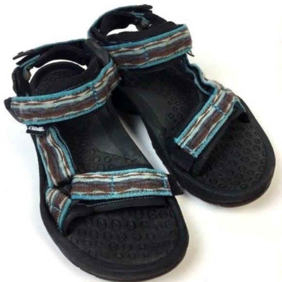 Teva Womens Shoes 5 680 Shoc Pad Hiking